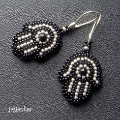 hamsa earrings, so cute!