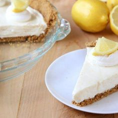 No Bake Lemon Icebox Pie from Betty Crocker