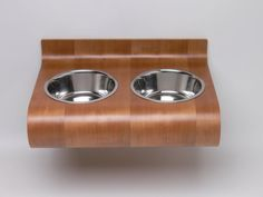 the best wall mounted pet feeder  by Vurv Design Studio