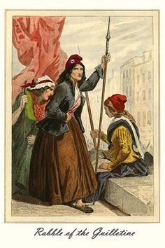 Women Excite the population to send others to the Guillotine