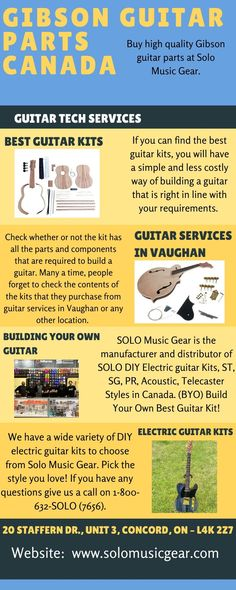 Solo Music, Art Music, Gibson Guitars, Fender Guitars, Build Your Own Guitar, Electric Guitar Kits, Jim Morrison Movie, Gear Best, Guitar Building