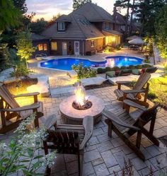 Stunning Outdoor Fire Pits Designs Ideas 40