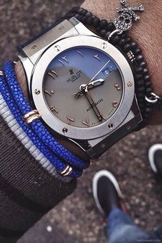 Hublot watch!