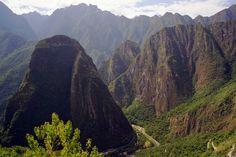 Urubamba River from Huayana Picchu
