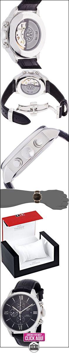 TISSOT CHEMIN DES TOURELLES GENT AUTOMATICO 44mm ACERO E/NEGRA CUERO -CHRONO  ✿ Relojes para hombre - (Lujo) ✿ ▬► Ver oferta: https://comprar.io/goto/B0116EBJ62