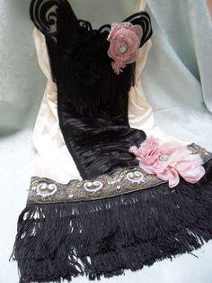 FLAPPER Great Gatsby Speakeasy Roaring 20s Jazz Age by pinkpurse, $102.00