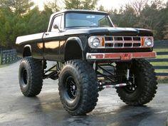 1967 Dodge Sweptline 4x4 Monster Truck For Sale Nose
