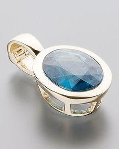 Wunderschöner Clipanhänger mit Kyanit  von Sogni d´oro #Sognidoro #sogni #doro #Schmuck #edelsteine #jewelry #gemstones #colors