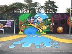 Interactive community mural
