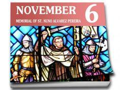 Carmelite Events NEWS: Change of Date for Memorial of St. Nuno Alvarez Pereira