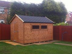 Sheds for sale in the UK. A great selection of styles and sizes. Which shed would you choose for your garden? #shedsforsale