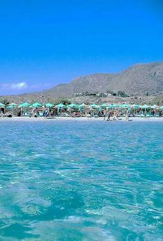 Elafonissi beach, Crete , Greece