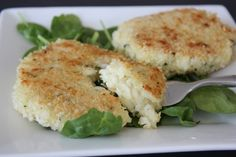 [chive risotto cakes]