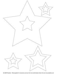 Free Printable Color Stars Shapes Trials Ireland - Coloring Home Pages Charm Pack Quilt Patterns, Stencil Patterns, Fun Crafts, Diy And Crafts, Paper Crafts, Printable Star, Free Printables, Felt Christmas, Christmas Ornaments