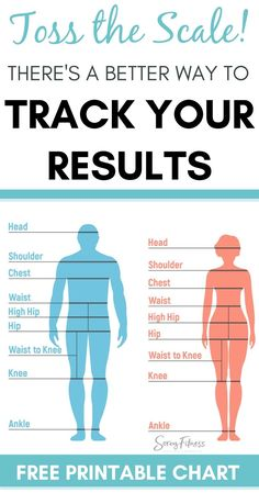 Get our Body Measurement Chart to stay motivated towards your health, fitness, and weight loss goals! We outline how to measure your body and why measurements are better than weighing! Weight Loss Chart, Easy Weight Loss Tips, Weight Loss Goals, Body Measurement Tracker, Body Chart, 21 Day Fix Extreme, Afro, How To Measure Yourself, Body Image