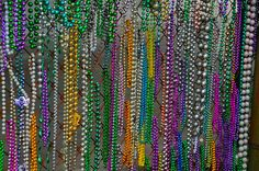 Beads on a Chain-Link Fence by Fleur-de-Leigh, via Flickr