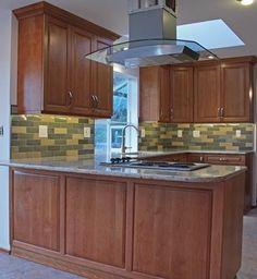 Ambiente Tile Designer Project: Keystone Kitchen With Wizard Bison Brick  Tile