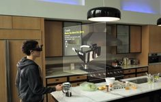 Meta - Augmented Reality Glasses with 3D Gesture Control Interactive Interface – Epson Moviero + Kinect (+VIDEO)
