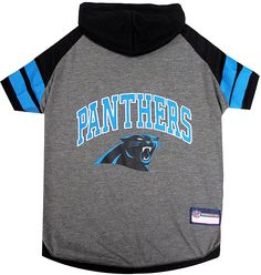 Pets First Carolina Panthers Hoodie T-Shirt -- Check out this great  product. Sport OutfitsDog ... b1006ed76