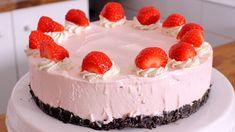 Erdbeer-Milchshake No Bake Cake