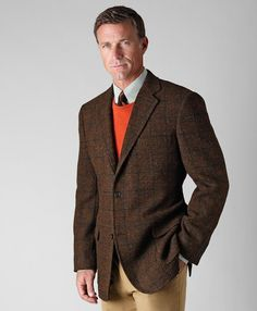 I love Harris Tweed sport coats.