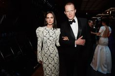 Jennifer Connelly in Louis Vuitton and Paul Bettany