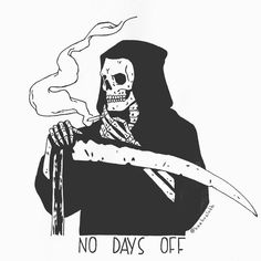 That One day off work life Matt Bailey, Posca Art, Skeleton Art, Skeleton Drawings, Arte Obscura, Dope Art, Skull And Bones, Memento Mori, Skull Art