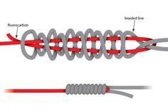 It looks complicated but the Alberto knot can be tied quickly and securely for fishing fast