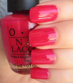 OPI  Too Hot Pink To Hold Em   #EssentialBeautySwatches   BeautyBay.com