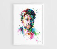 Frank Rijkaard Ajax Milan Barcelona  A3 Art Prints of by NazarArt, $20.00