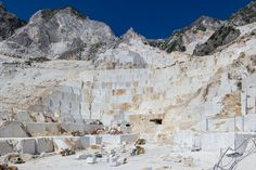 Visiting Carrara Marble Quarries - Apuan Alps' Eternal Snow | Italy Magazine