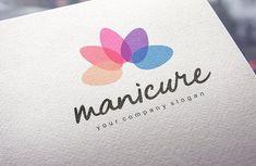 Manicure Logo by IkarGraphics on @creativemarket