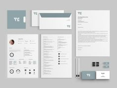 Personal Identity on Behance Personal Identity, Brand Identity, Web Design, Behance, Design Web, Personal Branding, Website Designs, Site Design