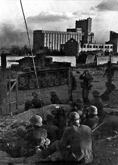 Panzer III  troops; Stalingrad