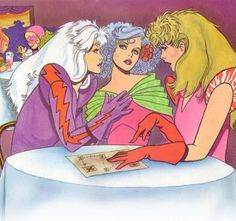 jem and the holograms Tom Tierney - Google Search