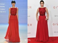 Odeya Rush In Georges Hobeika Couture - 'The Giver' New York Premiere. re-tweet and favorite it here: https://twitter.com/MyFashBlog/status/499433251228774400/photo/1