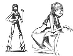 theanimationarchive: Character model sheets for Motorcity...