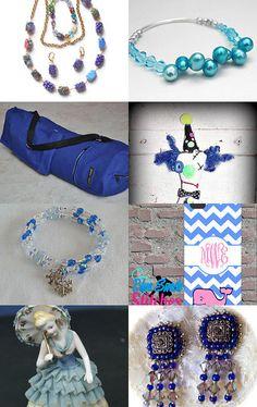 My yoga mat bag is featured here: Monday Blues Gift Clues  by Karen Blevins on Etsy--Pinned with TreasuryPin.com #yoga #yogamatbag #yogaaccessories #yogabag #yogaeverydamnday #yogamyway #pilates #zipperbag #adjustablestrap #royalblueyogabag #giftsforher #giftsforhim #uniquegifts #christmasgiftideas #christmasgiftguide #holidaygiftguide #womenshealth #menshealth #handmade #handmadegifts #sale #onsale #onsalenow #namaste
