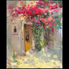 Vitaly Makarov, summer painting of sunny noon Paintings I Love, Beautiful Paintings, Contemporary Abstract Art, Arte Pop, Art And Illustration, Pastel Art, Art Oil, Love Art, Painting Inspiration
