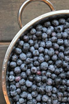 Blueberries | Oysters & Pearls