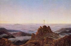 Morning in the Riesengebirge (1810/11) Caspar David Friedrich (German, 1774 – 1840) Oil paint on canvas, 95 x 75 cm Kunsthalle Hamburg (Germany)