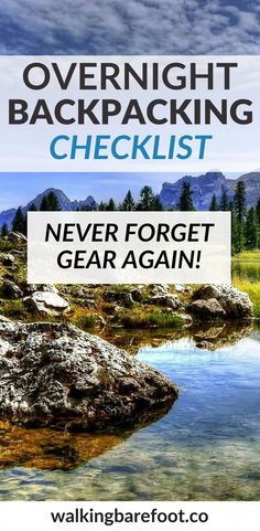 When I first started backpacking in high school, I had a knack for always forgetting something. I created this overnight backpacking checklist to help! Backpacking Checklist, Camping Guide, Backpacking Gear, Camping Hacks, Camping Gear, Camping Stuff, Backpack Camping, Diy Camping, Winter Camping