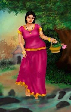 November 2014 – Tamil and Vedas Indian Women Painting, Indian Art Paintings, Sexy Painting, Woman Painting, Potrait Painting, Beautiful Girl Indian, Most Beautiful Indian Actress, Beauty Full Girl, Beauty Women