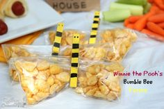 Healthy party ideas for a Winnie the Pooh Party #sponsored