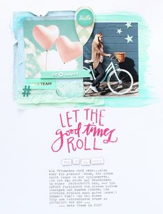 Let the good times roll by SteffiandAnni at @studio_calico