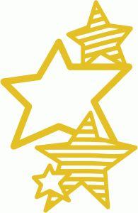 Silhouette Design Store - View Design #61291: star cluster