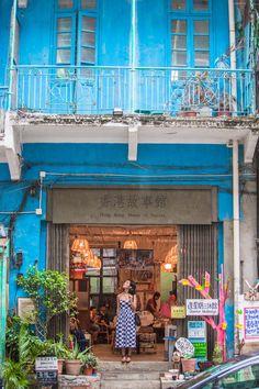 Gary Pepper | Blue House in Wanchai, Hong Kong