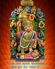 Sarangpur Hanuman, Hanuman Photos, Sai Baba Photos, Hanuman Wallpaper, Ganesha Art, Hindus, Gods And Goddesses, Deities, Shiva