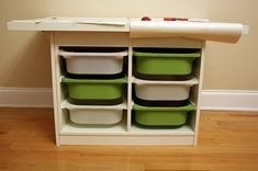 Website full of ideas for using IKEA furniture in different ways. Great ideas especially for kid areas.