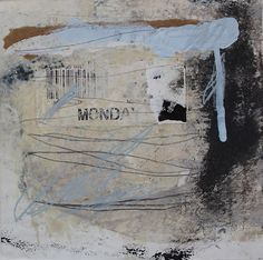 mixed media painting by Vavoir / Jane Cornwell